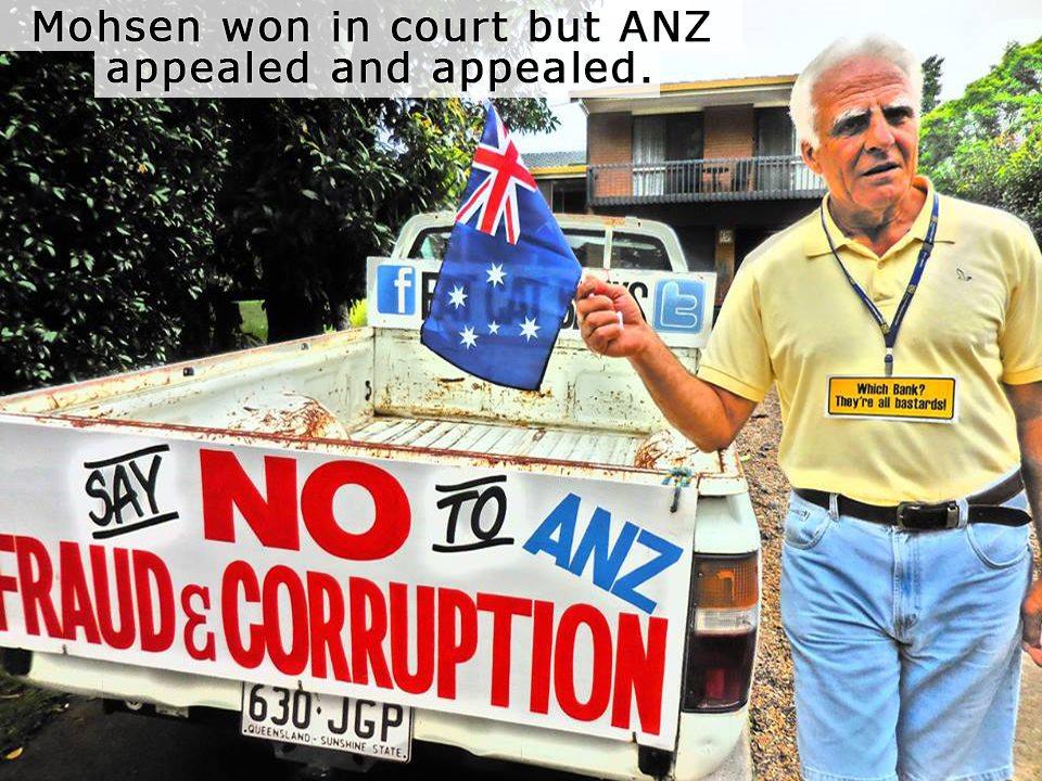ANZ Bank Fraud